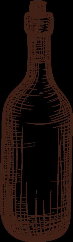 Bottiglia di nocino - vendita liquori artigianali